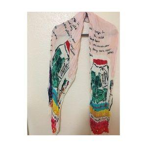 Kate spade artsy scarf